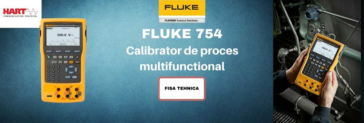 FLUKE 754 CALIBRATOR DE PROCES MULTIFUNCTIONAL