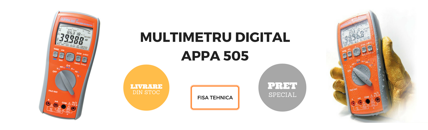 appa 505 multimetru digital