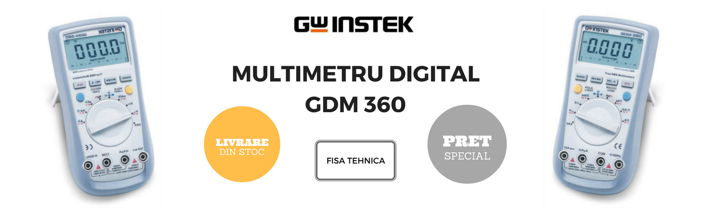 gdm 360 multimetru digital