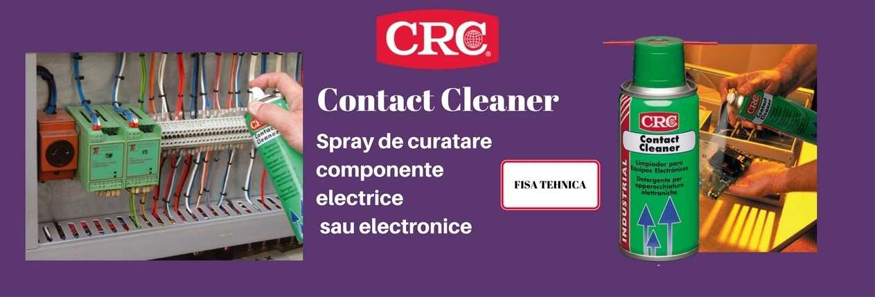 CRC Contact Cleaner banner