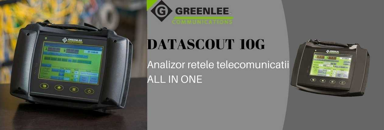 Greenlee Com DATASCOUT 10G banner