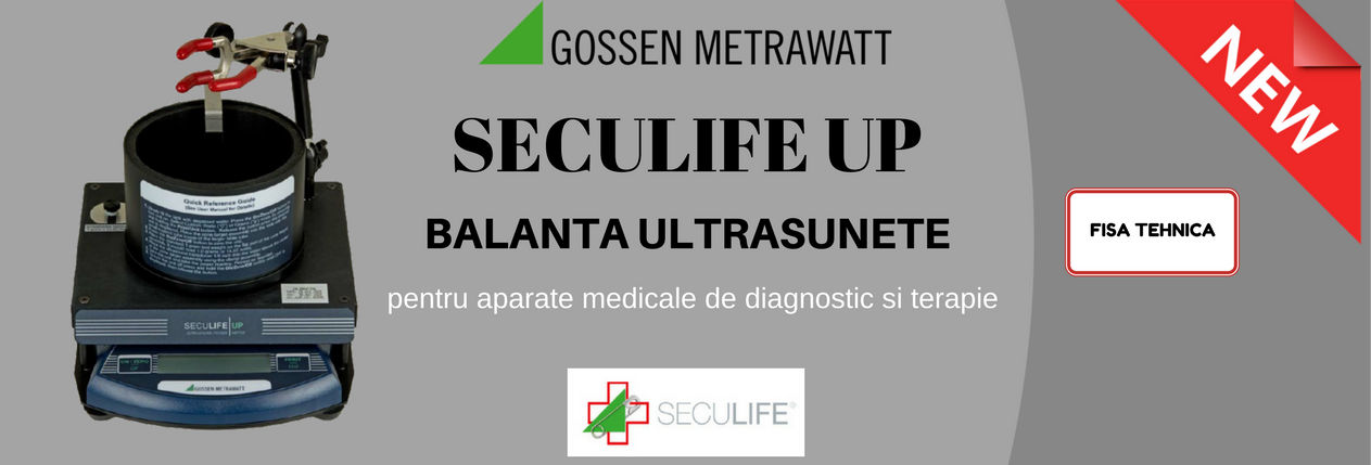 Seculife UP banner produs nou