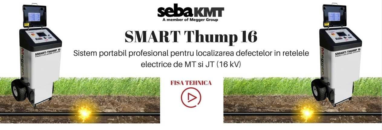 SMART THUMP 16 DEFECTOSCOPIE SEBA MEGGER