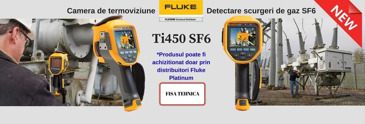 Fluke Ti450 SF6 - new product banner