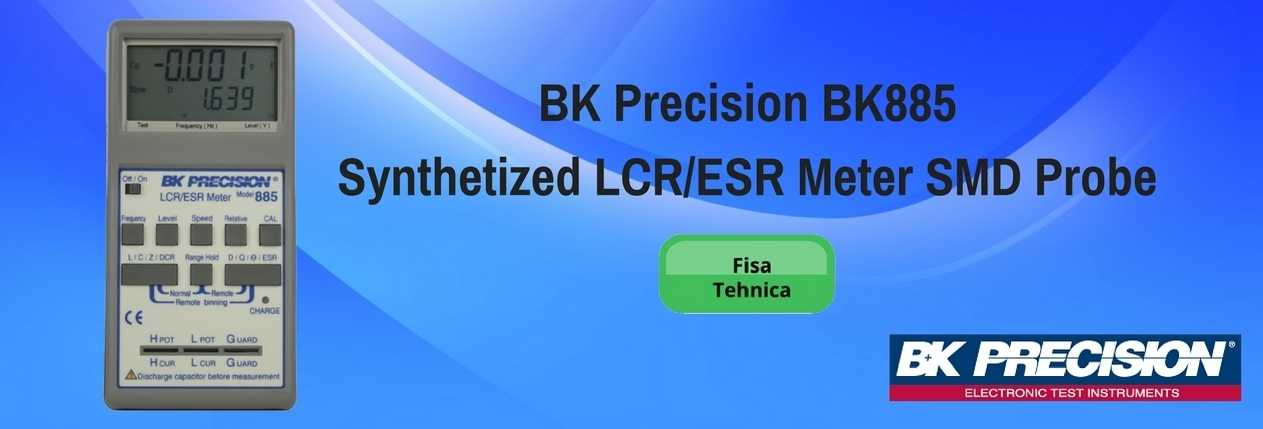 BK Precision BK885 Synthetized LCR-ESR