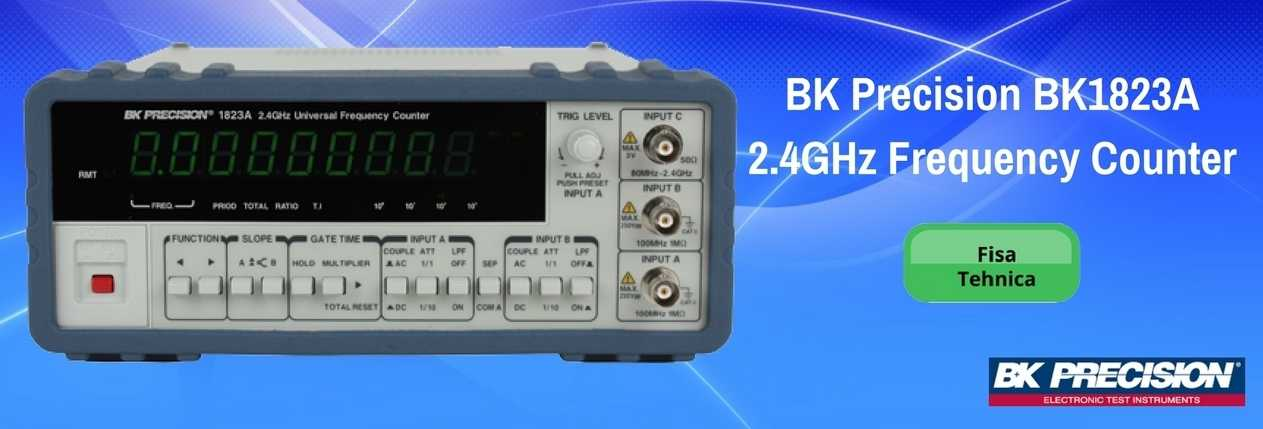 BK Precision BK1823A 2.4GHz Frequency Counter