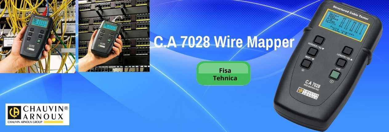 C.A 7028 Wire Mapper