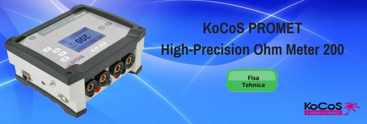 KoCoS PROMET High-Precision Ohm Meter 200