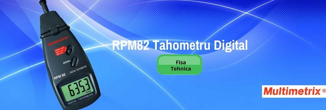 RPM82 Tahometru digital