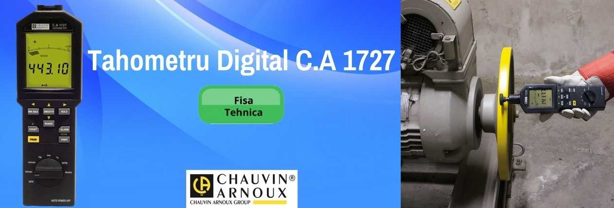 Tahometru Digital C.A 1727