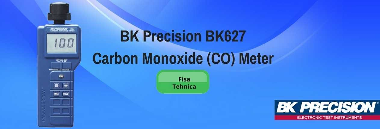 BK Precision BK627 Carbon Monoxide (CO) Meter