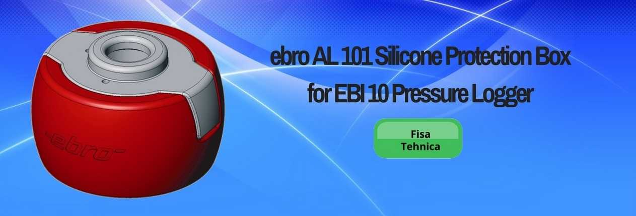 ebro AL 101 Silicone Protection Box for EBI 10 Pressure Logger