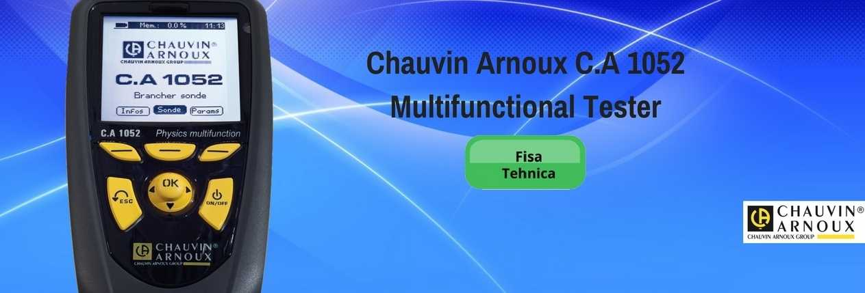 Chauvin Arnoux C.A 1052Multifunctional Tester