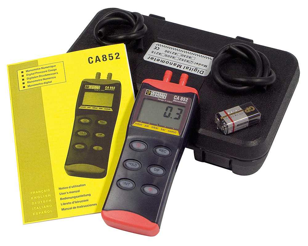 ca852 delivery pack