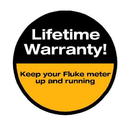 Fluke Lifetime Warranty