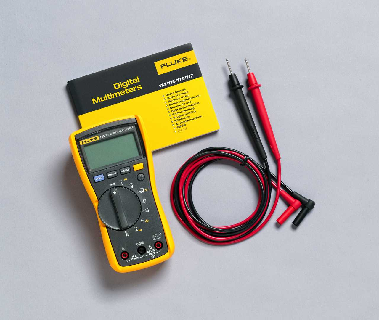 Fluke 115 TRMS Delivery Package