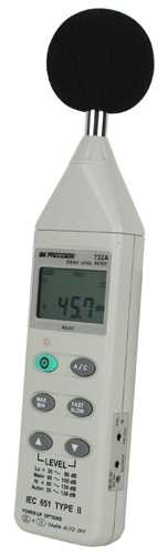Sonometre BK Precision BK732A  Digital Sound Level Meter with RS 232 Capability