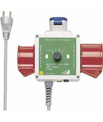 Accesorii testere electrosecuritate Metrawatt CEE Adapter for 3-Phase Load Components in Combination with SECUTEST and METRATESTER Series Testers