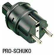 Accesorii testere electrosecuritate Metrawatt PRO-SCHUKO Plug Inserts for Germany - SCHUKO System
