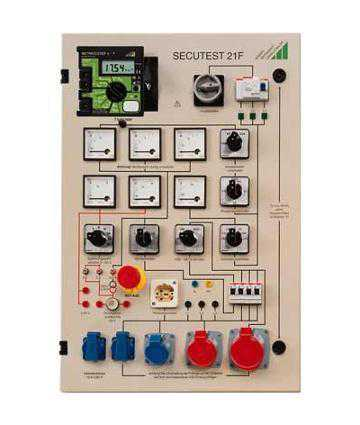 Accesorii testere electrosecuritate Metrawatt SECUTEST 21F Workshop Test Panel for Testing Devices per DIN VDE 0701-0702
