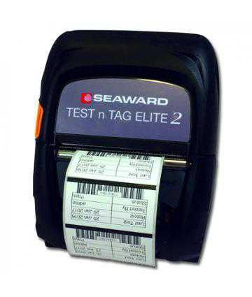 Accesorii testere electrosecuritate Seaward Test n Tag Elite 2 Printer, 52 x 74mm & 52 x 25mm Labels