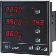 Aparate de panou Camille Bauer A2000 Multifunctional Power Meter for 3-Phase Systems