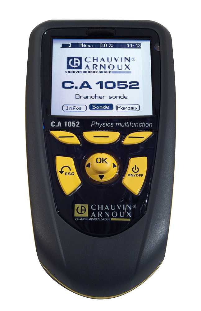 Multifunctionale Chauvin Arnoux 1052 Tester multifunctional