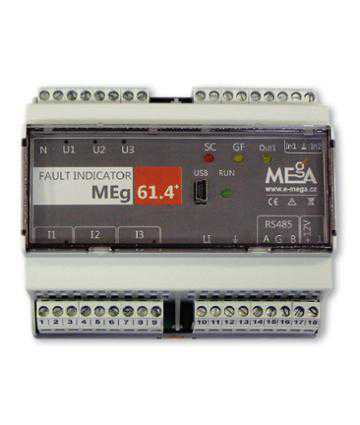 Detectoare de tensiune MEgA Short-circuit and ground fault indicator MEg61.4+