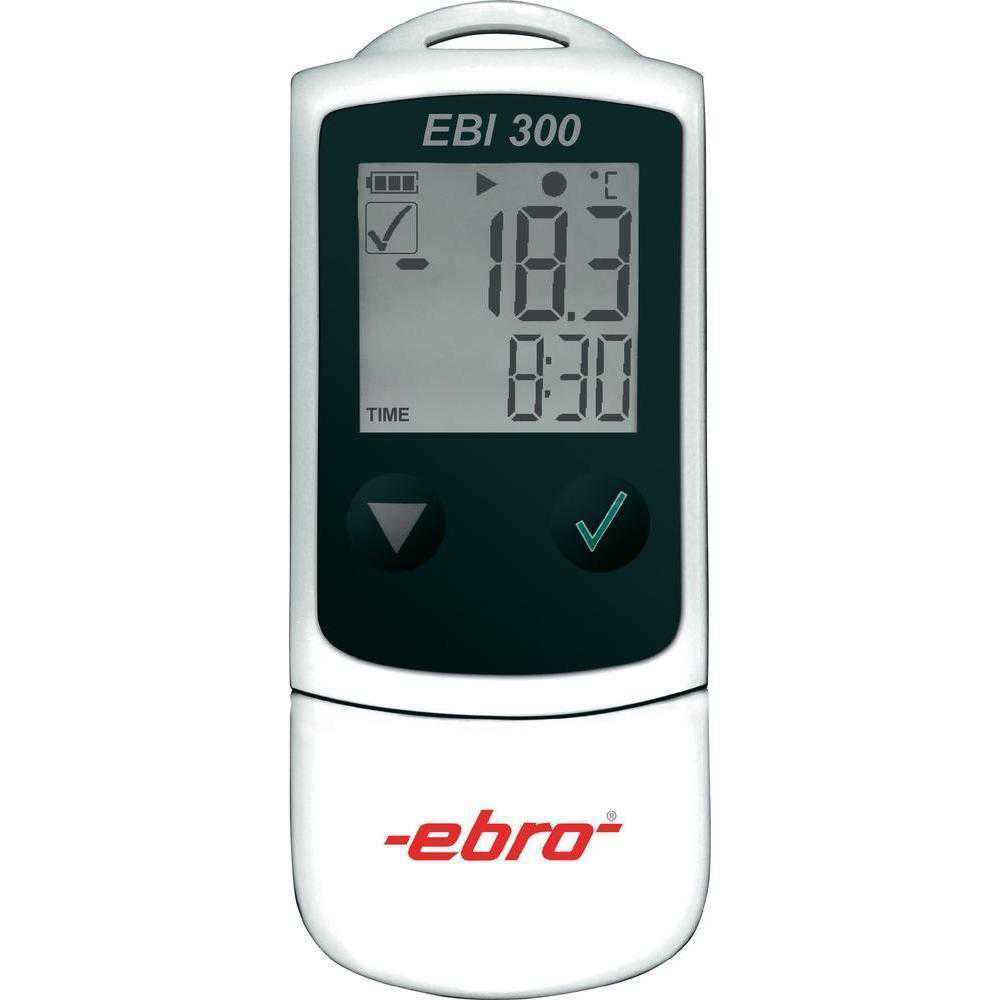 Loggere de temperatura / umiditate EBRO EBI 300 TH Relative humidity monitoring in storages and during transports