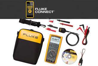 Multimetre Digitale Fluke 287/FVF/IR3000 Kit Fluke 287 multimetru digital si IR3000 conector wireless
