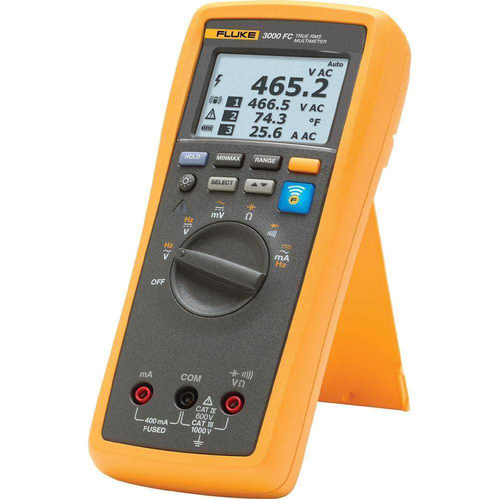 Multimetre Digitale Fluke T3000 FC Kit wireless de temperatura, cu multimetru digital 3000FC si T3000FC