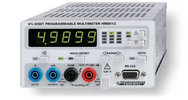 Multimetre de laborator Rohde & Schwarz HM8012 Digit Multimeter Module