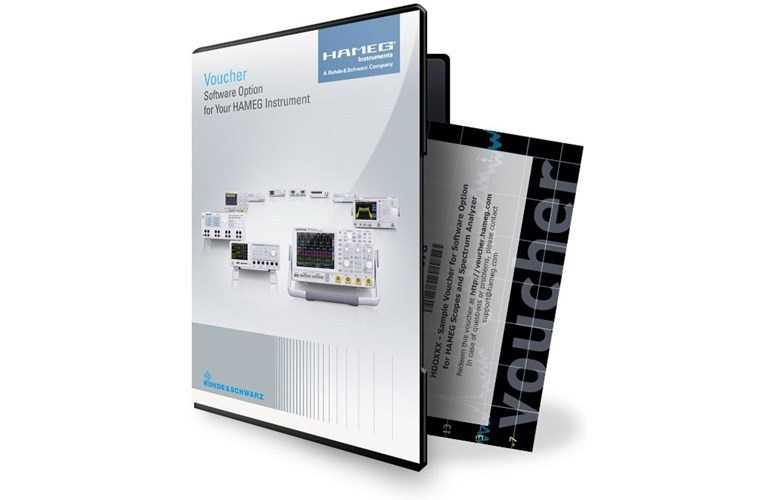 Accesorii masuratori de uz general Rohde & Schwarz HV344 License key (voucher)