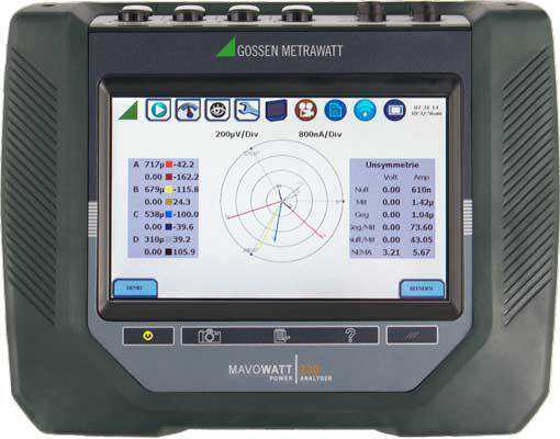 Analizoare de energie Metrawatt MAVOWATT 230 3-Phase Energy and Power Disturbance Analyzers