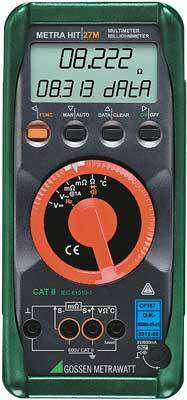 Micro-ohmetre Metrawatt MetraHit 27M Milliohmeter and Multimeter with Data Logger
