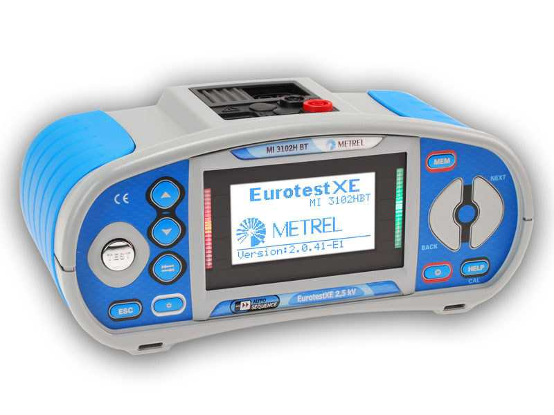 Testere pentru instalatii electrice Metrel MI 3102H BT - AUTO SEQUENCE tester with insulation resistance up to 2,5 kV
