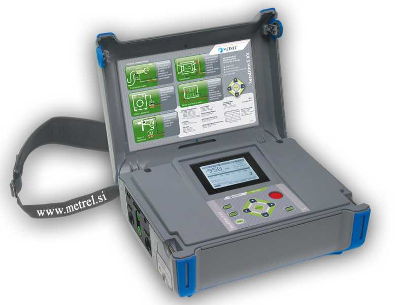 Testere de izolatie / Megohmetre Metrel MI 3201 - Advanced 5 kV Insulation Tester with Diagnostics Tools