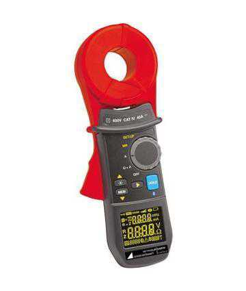 Testere de izolatie / Megohmetre Metrawatt METRAclip EARTH Clamp Meter for Measuring of Ground Loop Resistance, Loop Inductance, Touch Voltage and Leakage Current